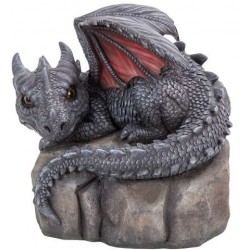 Garden Dragon on Rock Statue LABEShops Home Decor, Fashion and Jewelry