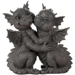 Garden Dragon Loving Couple Statue LABEShops Home Decor, Fashion and Jewelry