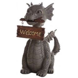 Welcoming Garden Dragon Statue LABEShops Home Decor, Fashion and Jewelry