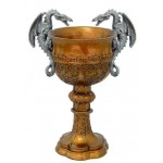 Double Dragon Golden Chalice at LABEShops, Home Decor, Fashion and Jewelry