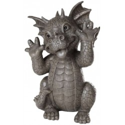 Taunting Dragon Garden Statue LABEShops Home Decor, Fashion and Jewelry
