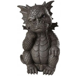 Thinker Dragon Garden Statue LABEShops Home Decor, Fashion and Jewelry