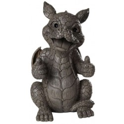 Thumbs Up Dragon Garden Statue LABEShops Home Decor, Fashion and Jewelry