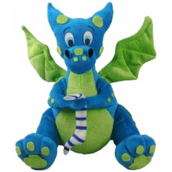 Blue Dragon Plush Toy LABEShops Home Decor, Fashion and Jewelry