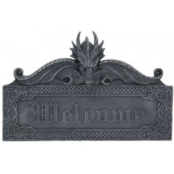 Dragon Welcome Wall Sign LABEShops Home Decor, Fashion and Jewelry