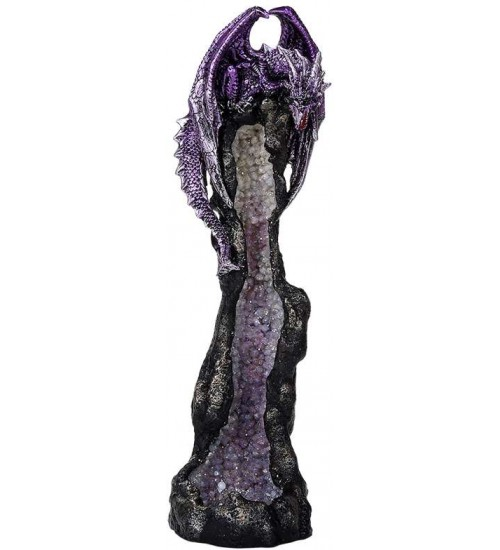 Dragon Geode Tower Incense Holder at LABEShops, Home Decor, Fashion and Jewelry