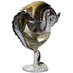 White Wine Dragon Statue LABEShops Home Decor, Fashion and Jewelry