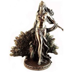 Hera Queen of the Greek Gods Statue with Peacock LABEShops Home Decor, Fashion and Jewelry