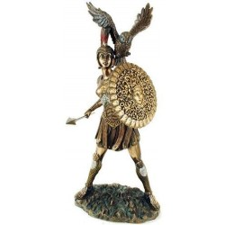 Athena Warrior Goddess of Wisdom Greek Goddess Bronze Statue LABEShops Home Decor, Fashion and Jewelry