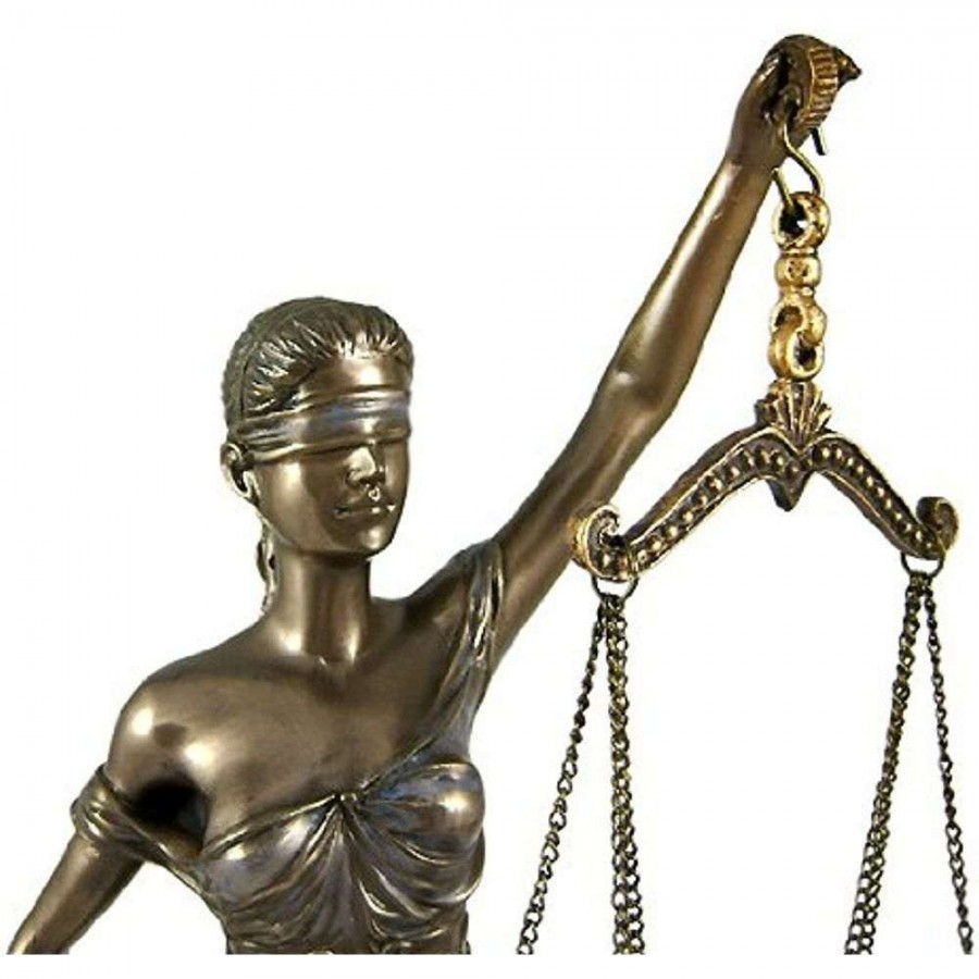 ... La Justica 12 Inch Lady Justice Statue in Bronze Resin at LABEShops c725b71567
