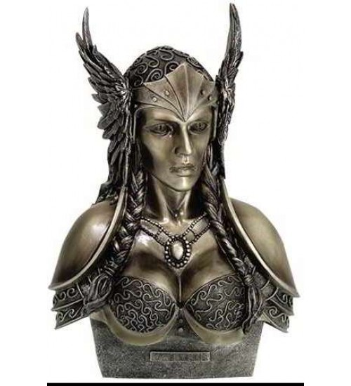 Valkyrie Norse Warrior Woman Statue at LABEShops, Home Decor, Fashion and Jewelry