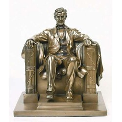 Abraham Lincoln Memorial Bronze Statue LABEShops Home Decor, Fashion and Jewelry