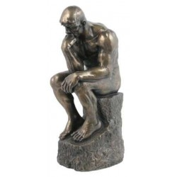 The Thinker by Rodin 10 Inch Bronze Statue LABEShops Home Decor, Fashion and Jewelry