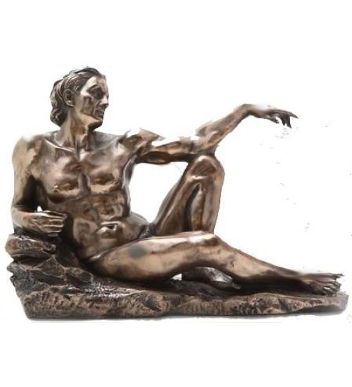 Adam - Creation of Man I by Michelangelo Museum Replica Statue at LABEShops, Home Decor, Fashion and Jewelry