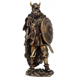 Viking Warrior with Shield Statue LABEShops Home Decor, Fashion and Jewelry