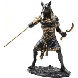 Seth Warrior Statue in Black LABEShops Home Decor, Fashion and Jewelry