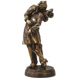 Sailor Kissing Nurse Iconic Image Statue LABEShops Home Decor, Fashion and Jewelry