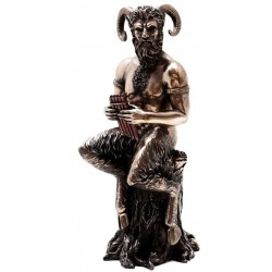 Pan Greek God of Nature Horned God Statue LABEShops Home Decor, Fashion and Jewelry