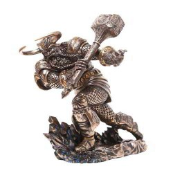 Thor, Norse God Attacking with Hammer Statue LABEShops Home Decor, Fashion and Jewelry Direct to You