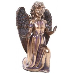 Adoring Angel Bronze Resin Statue