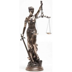 Lady Justice 31 Inch Statue in Bronze Resin LABEShops Home Decor, Fashion and Jewelry