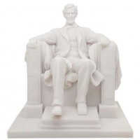 Abraham Lincoln Memorial Marble Statue