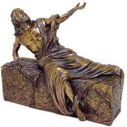 Jesus, He is Risen Bronze Christian Statue LABEShops Home Decor, Fashion and Jewelry