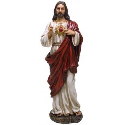 Sacred Heart of Jesus Christian Statue LABEShops Home Decor, Fashion and Jewelry