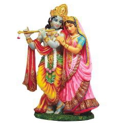 Krishna and Radha Hindu God Statue LABEShops Home Decor, Fashion and Jewelry Direct to You