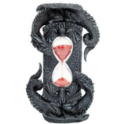 Double Dragon Gothic Sand Timer LABEShops Home Decor, Fashion and Jewelry