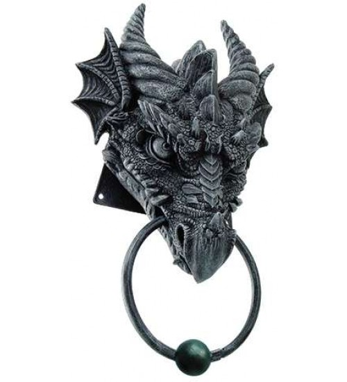 Dragon Head Door Knocker at LABEShops, Home Decor, Fashion and Jewelry