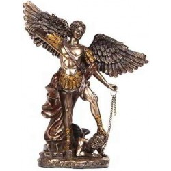 Archangel Michael Bronze Christian Statue