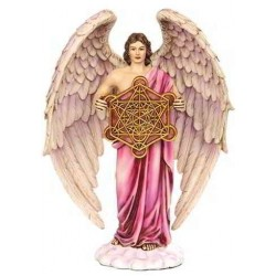 Metatron Archangel Hand Painted Color Statue