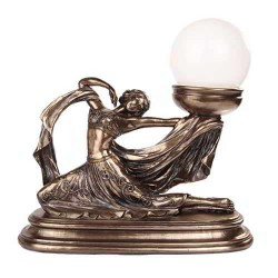 Art Nouveau Dancer Table Lamp LABEShops Home Decor, Fashion and Jewelry