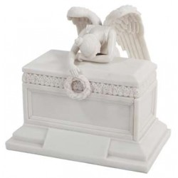 Angel of Bereavement Memorial Keepsake Urn LABEShops Home Decor, Fashion and Jewelry