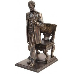 Abraham Lincoln Bronze Statue LABEShops Home Decor, Fashion and Jewelry
