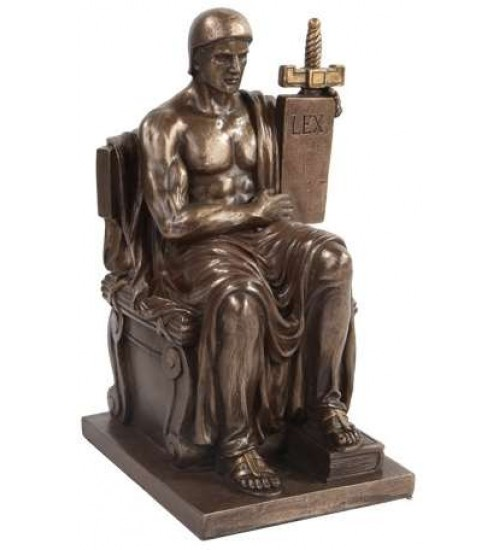 Authority of Law Bronze Resin Statue
