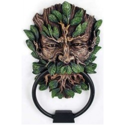 Greenman Forest God Door Knocker LABEShops Home Decor, Fashion and Jewelry