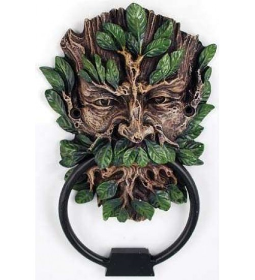 Greenman Forest God Door Knocker at LABEShops, Home Decor, Fashion and Jewelry