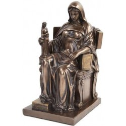 Contemplation of Law Bronze Statue LABEShops Home Decor, Fashion and Jewelry