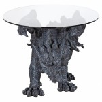 Shire Dragon Glass Topped Coffee Table at LABEShops, Home Decor, Fashion and Jewelry