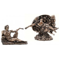 Creation of Man by Michelangelo Museum Replica Statue Set LABEShops Home Decor, Fashion and Jewelry