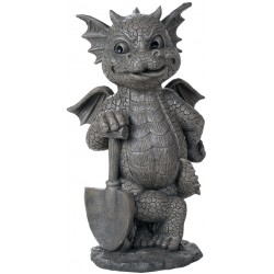 Gardeneing Dragon Garden Statue LABEShops Home Decor, Fashion and Jewelry