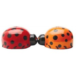 Ladybug Salt and Pepper Shakers LABEShops Home Decor, Fashion and Jewelry
