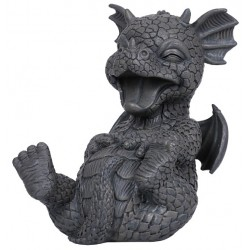 Laughing Dragon Garden Statue LABEShops Home Decor, Fashion and Jewelry