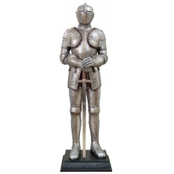 Knight with Sword Lifesize Suit of Armor Statue LABEShops Home Decor, Fashion and Jewelry