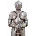 Knight with Sword Lifesize Suit of Armor Statue at LABEShops, Home Decor, Fashion and Jewelry