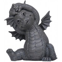 Garden Dragon Yoga Stretch Statue