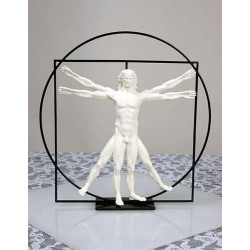 Vitruvian Universal Man by DaVinci Museum Replica Statue LABEShops Home Decor, Fashion and Jewelry