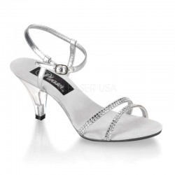 Belle Rhinestone Silver Sandal LABEShops Home Decor, Fashion and Jewelry